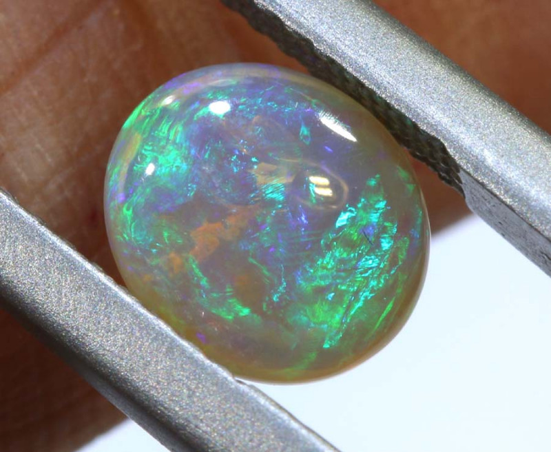 0.90-CTS  CRYSTAL OPALS  POLISHED  STONE TBO-9133