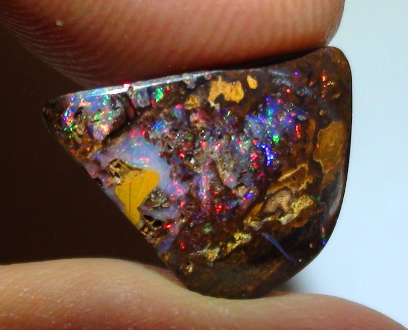 4.60 ct Koroit Boulder Opal Wood Matrix With Gem Multi Color