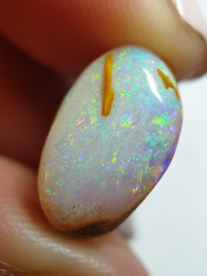 6.35 cts Boulder Pipe Crystal Opal B109