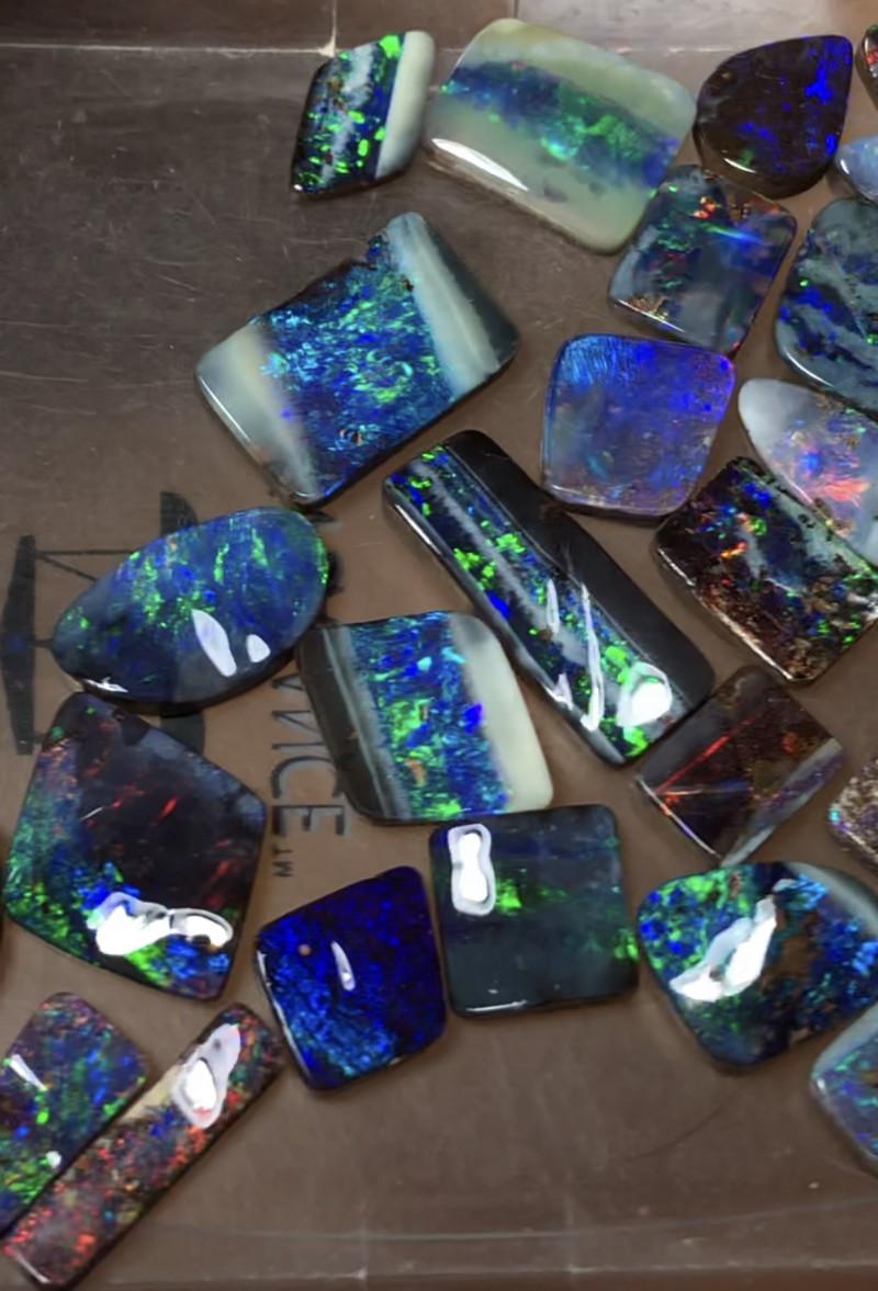 58cts Boulder Opal Stone Parcel 30 pcs