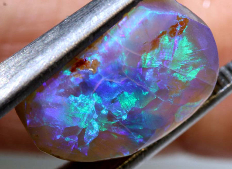 6.30-CTS CRYSTAL OPAL RUBS  STONE DT-8156