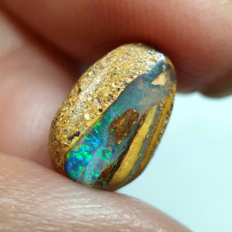 3.40 cts Boulder Pipe Crystal Opal B117