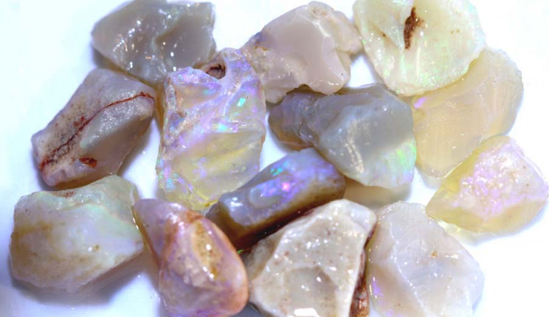 54.20 CTS- CRYSTAL OPAL ROUGH   DT-3379