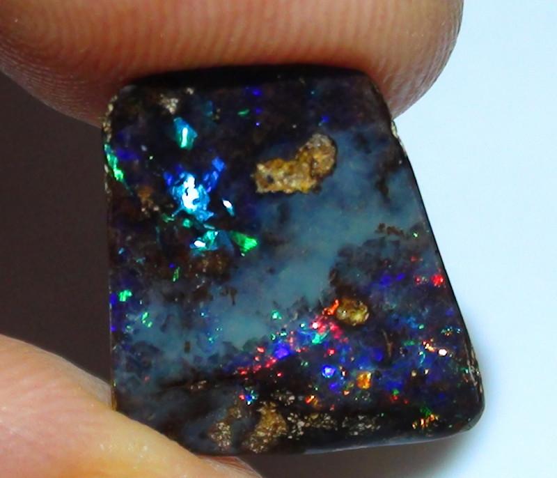 5.40 ct Boulder Opal With Gem Multi Color