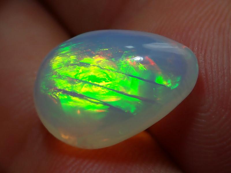 7.07ct. Ethiopian Blazing Welo Solid Opal