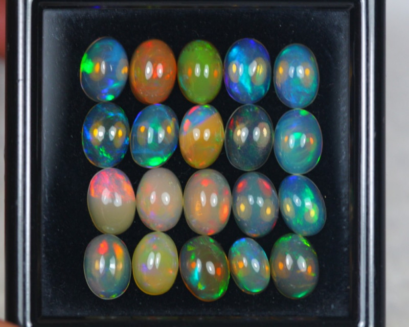 10.07Ct Natural Ethiopian Welo Opal Lot JA1099