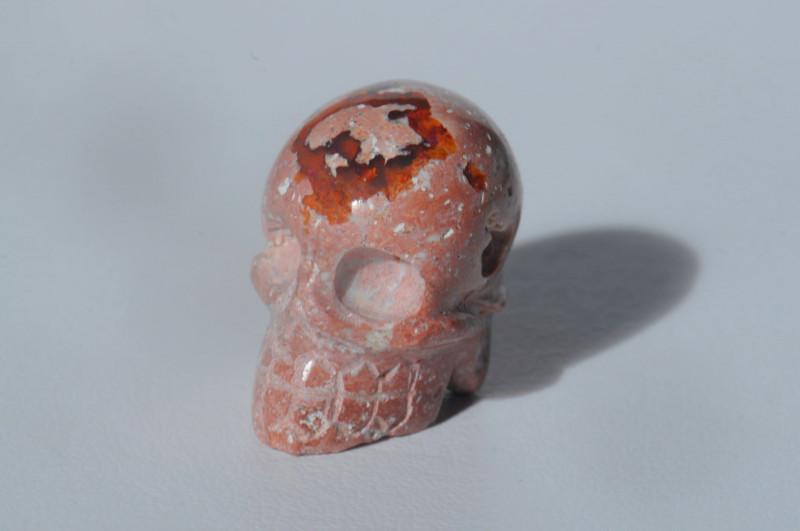 29.01ct. Mexican Matrix Cantera Multicoloured Fire Opal Pendant