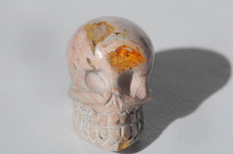 30.12ct. Mexican Matrix Cantera Multicoloured Fire Opal Pendant
