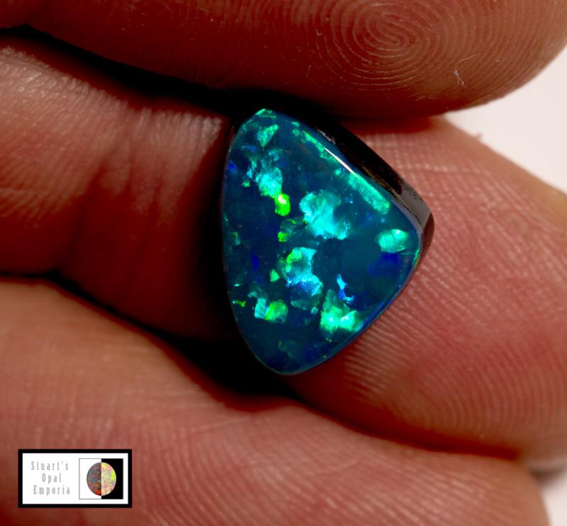 4.10 carat Lightning Ridge Doublet opal