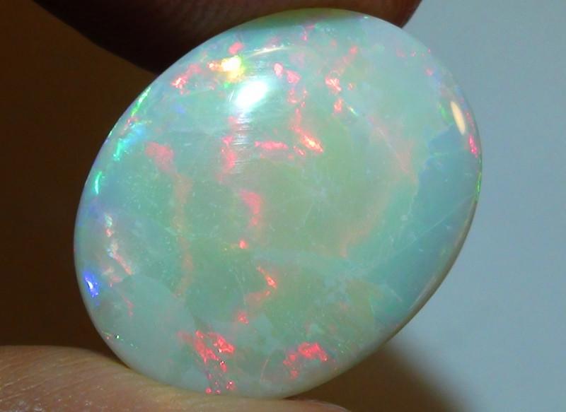 7.15 ct Beautiful Multi Color Lightning Ridge Opal