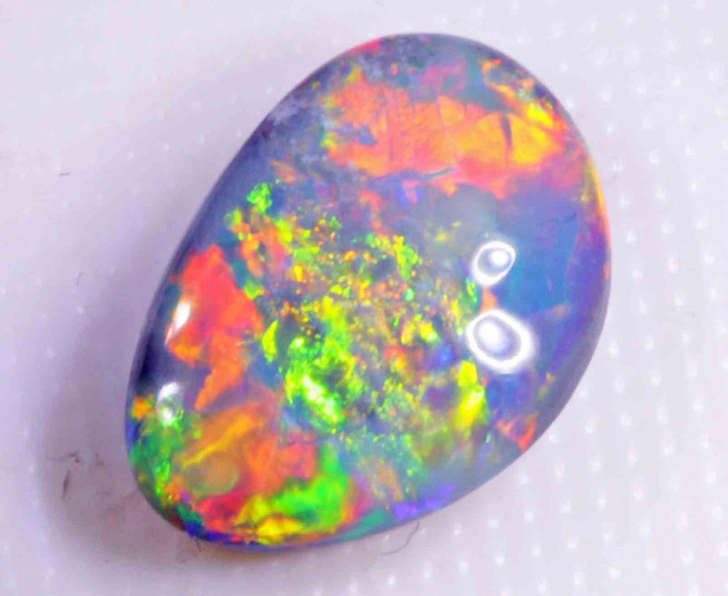 FREE SHIPPING  2.50 CTS  BLACK OPAL FROM LR -