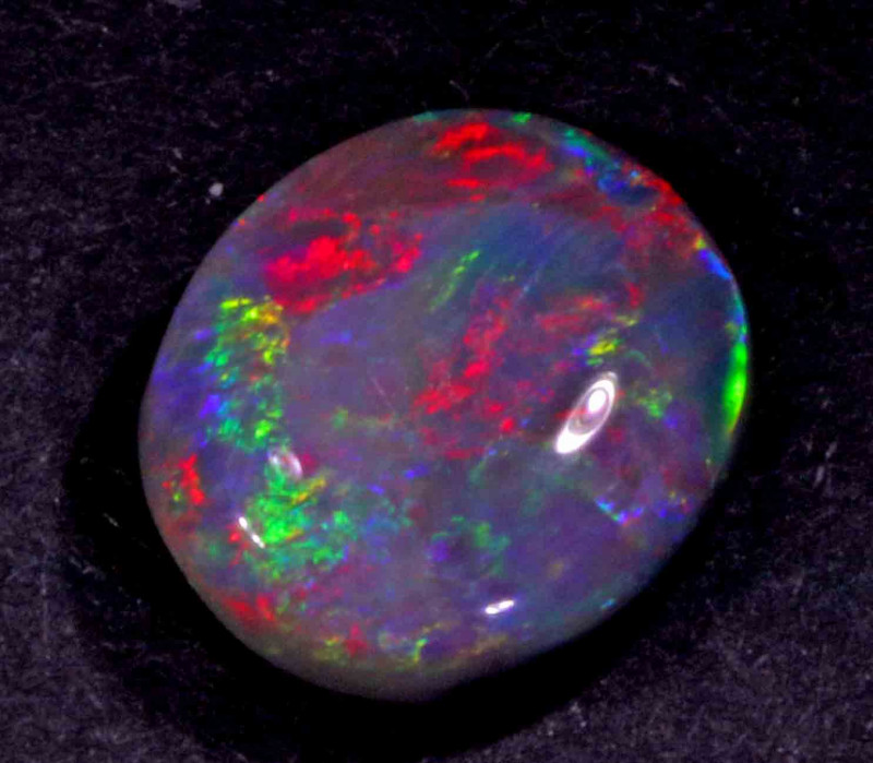 3.90 CTS  BLACK OPAL FROM LR -
