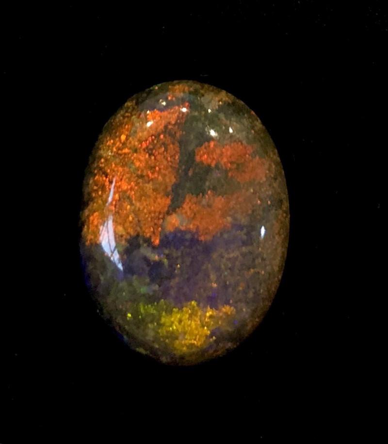 6.3cts Andamooka Black Matrix Opal