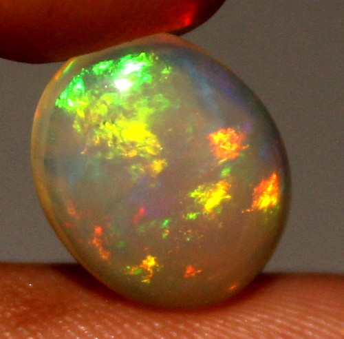 1.80 Crt Natural Ethiopian Welo Fire Opal Cabochon 113
