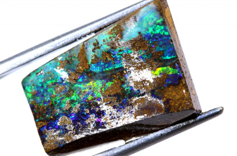 17 cts -GEM QUALITY BOULDER OPAL ROUGH  DT-4680