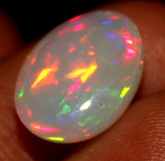 3.55 Crt Natural Ethiopian Welo Fire Opal 144