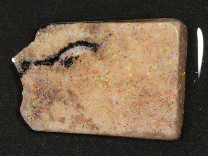 18.35ct  -6#  -  Andamooka Matrix Opal Rough-Treated [22258]