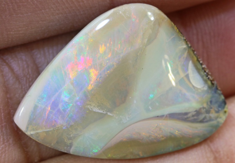 20.45 carats  Boulder Opal Polished ANO 674