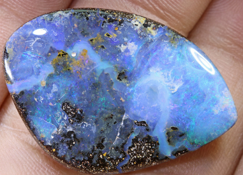 30.33 carats  Boulder Opal Polished ANO 676