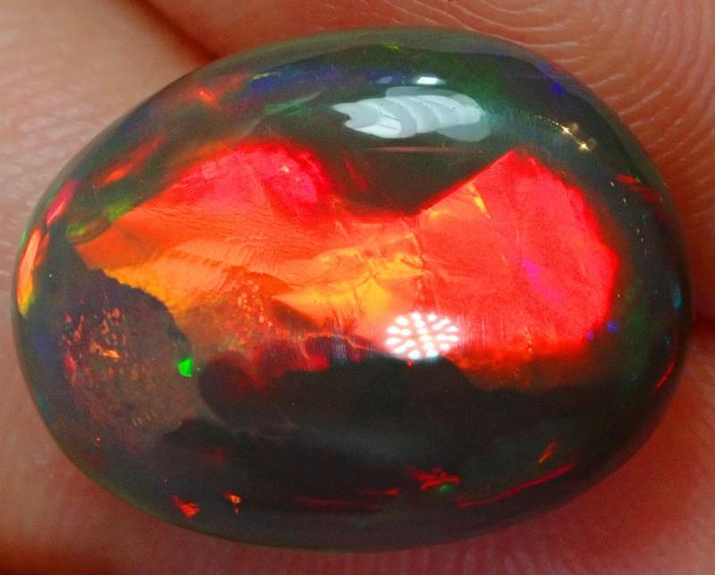 10ct. Dark Not Enhanced  Welo Solid Natural Base Opal