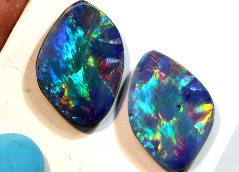 6.90 CTS- QUALITY OPAL DOUBLET  INV-1329