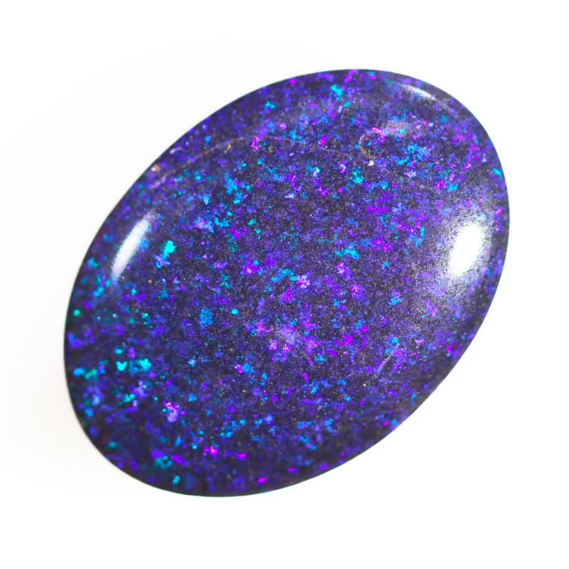 9.40 Cts Collectors Andamooka opal cut 80's   OPJ 2110