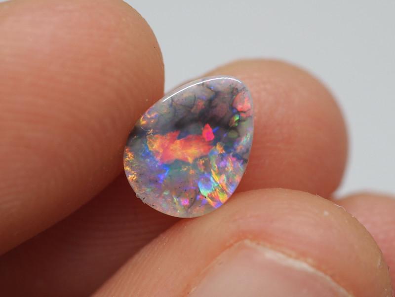 0.60CT Dark Opal Lightning Ridge BA7
