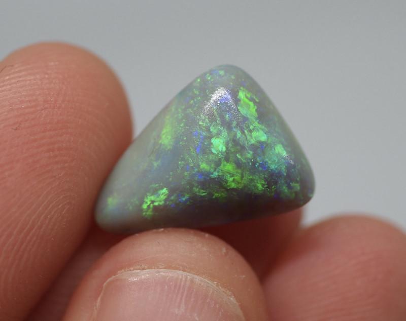 4.09CT Dark Opal Lightning Ridge BA15