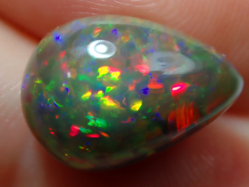 4.46ct. Pinfire Dark Welo Solid Opal