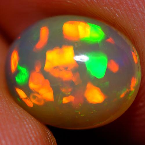2.37 CT  11X9 MM Broadflash!! Welo  Ethiopian  Opal -DA311