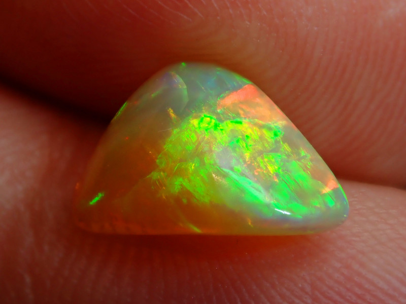 2.02ct. Carved Blazing Welo Solid Opal