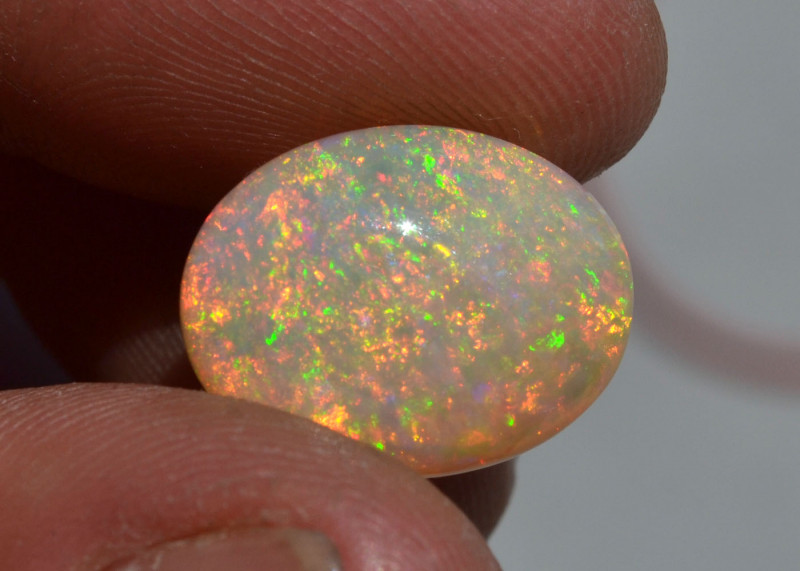 8.30 Carat Fantastically Bright Dual Sided Ethiopian Opal