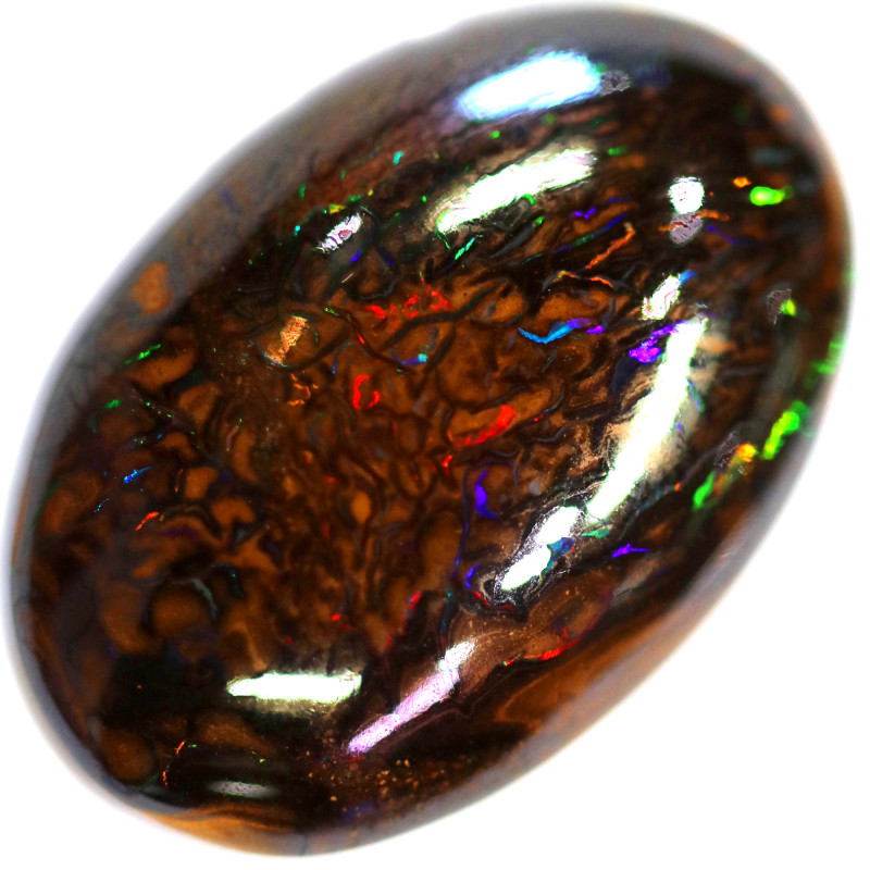 31.20 CTS STUNNING BOULDER OPAL FROM KOROIT [BMA4754]