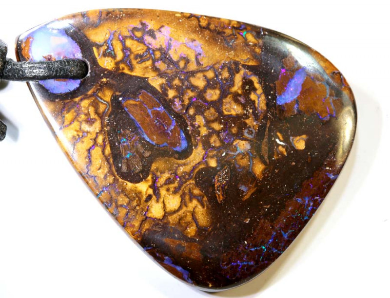 52.10 CTS YOWAH OPAL DRILLED PENDANT NC-6318