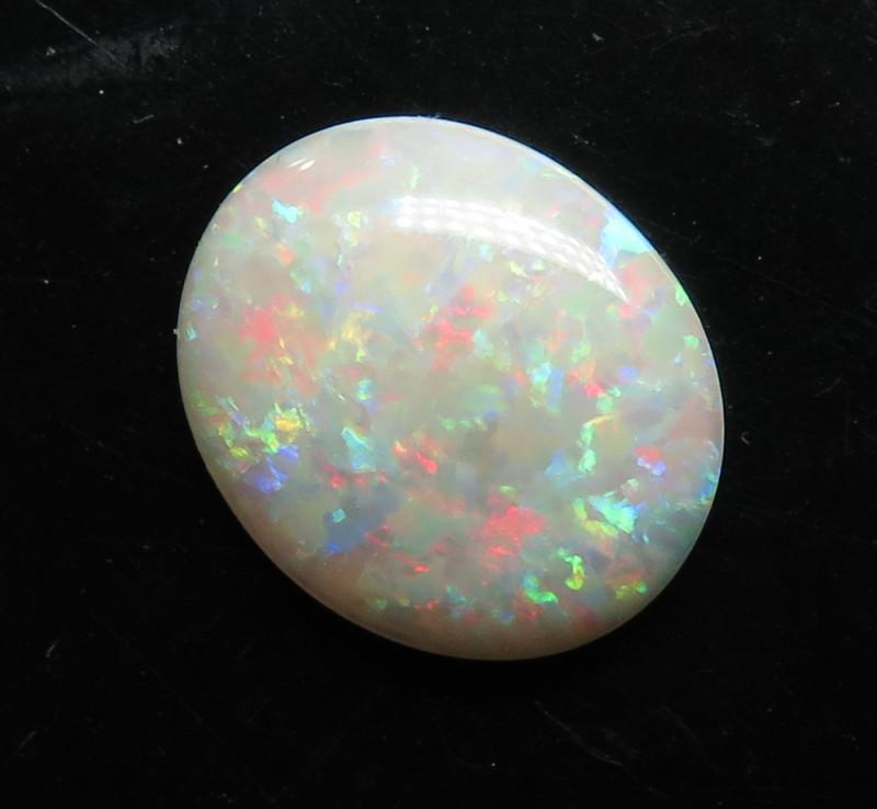 2.43ct White / Precious Mintabie South Australian Opal
