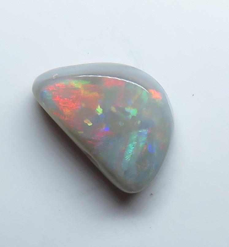 1.62ct Mintabie Semi Black Opal stone