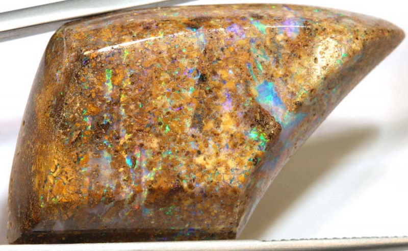 47.75  CTS  QUALITY BOULDER PIPE OPAL CUT PARCEL TBO-73