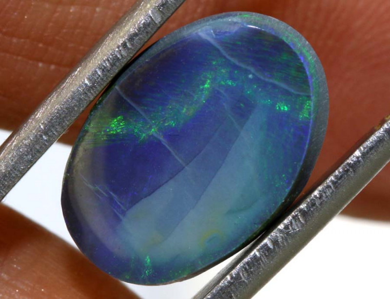 4 CTS  L.RIDGE BLACK OPAL  POLISHED STONE TBO-9472