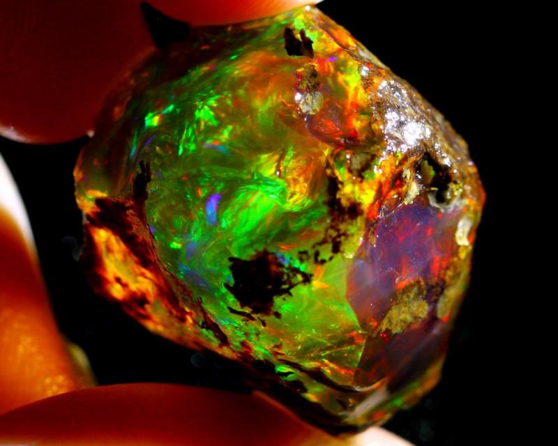42ct Ethiopian Crystal Rough Specimen Rough / KC22