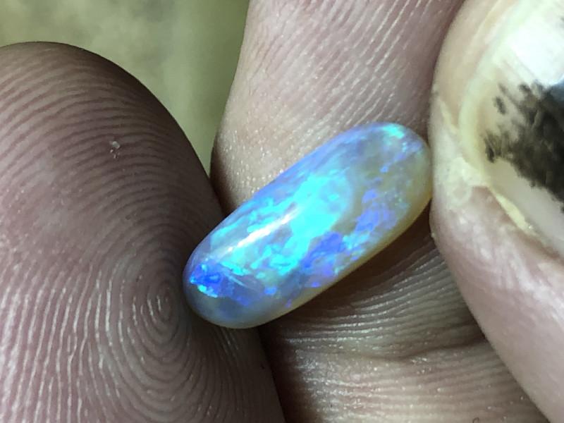 2ct Lightning Ridge crystal opal