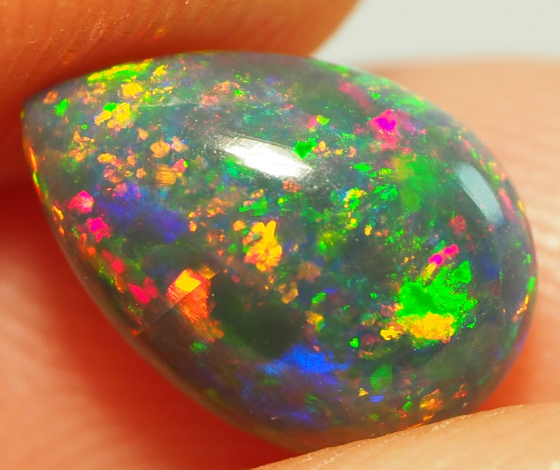 1.14CT ETHOPIAN TREATED OPAL STUNNING PATTERNS NN480