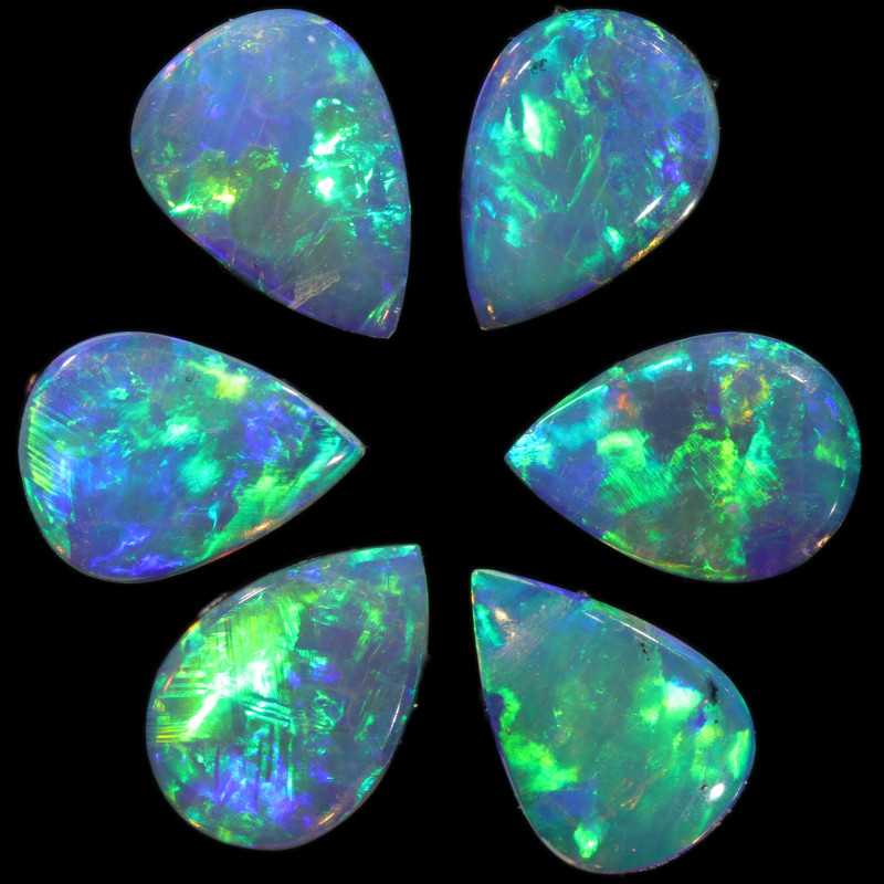 1.29 CTS CALIBRATED CRYSTAL OPAL  PARCEL FROM COOBER PEDY[SEDA2498]