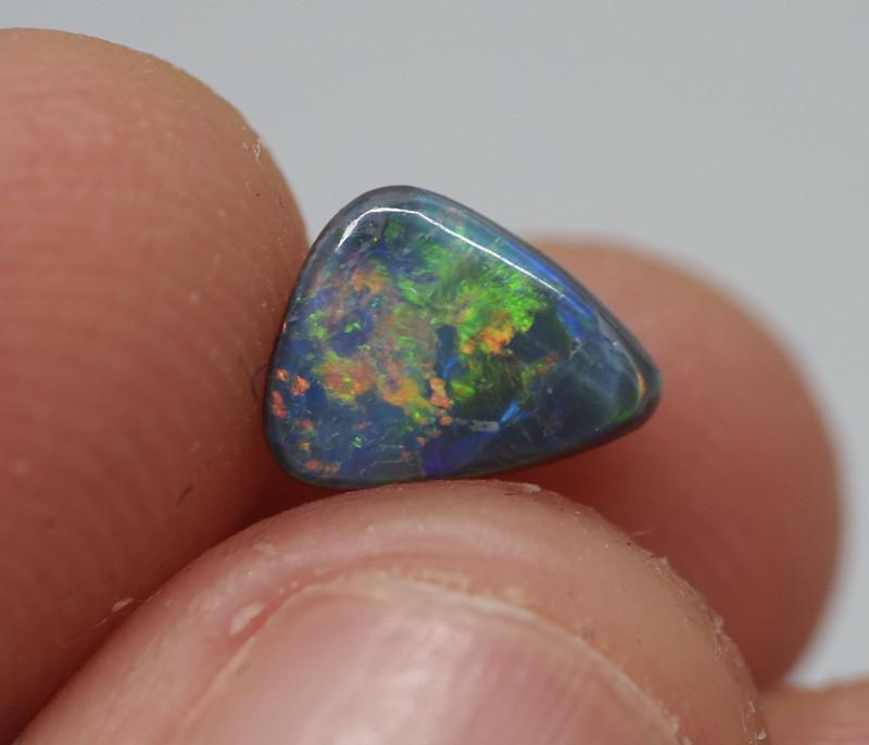 0.68CT Black Opal  Lightning Ridge