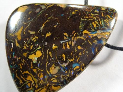 YOWAHOPALS*67.70ct Fantastic Patterns - Koroit Opal PENDANT