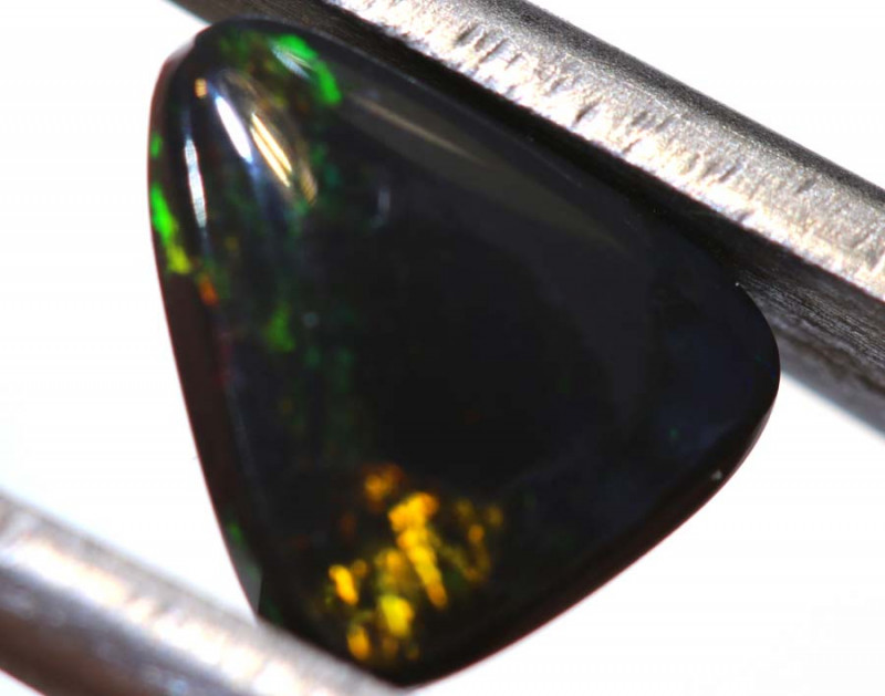 1.49 CTS  L.RIDGE BLACK OPAL  POLISHED STONE TBO-9543