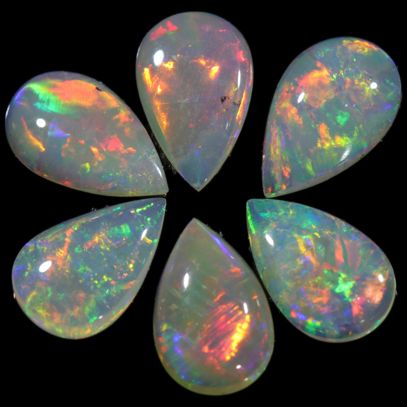 2.38 CTS CALIBRATED CRYSTAL OPAL  PARCEL FROM COOBER PEDY[SEDA2508]