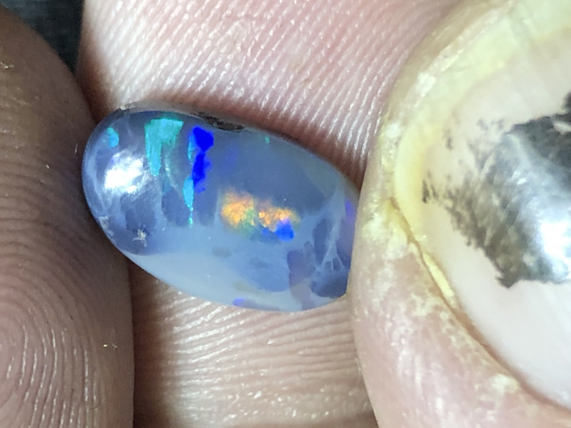 1.55ct Lightning Ridge black opal