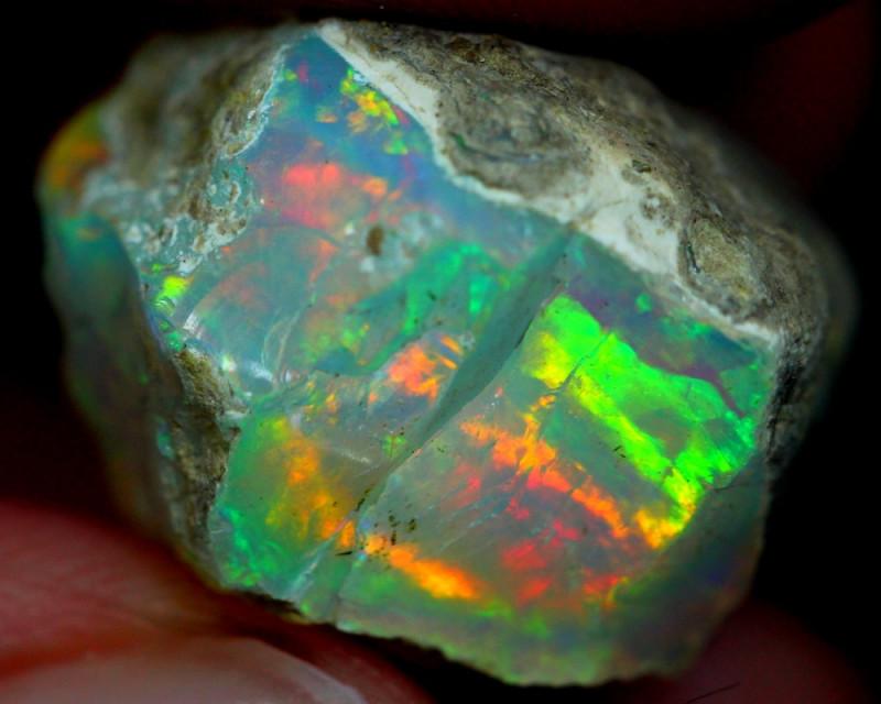 20cts Ethiopian Welo Rough Opal HJ01