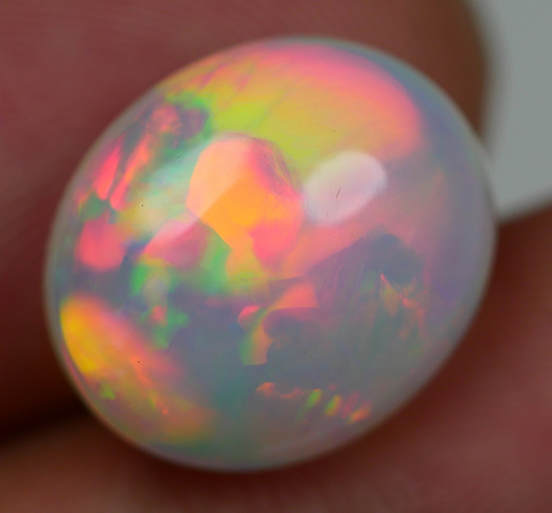 5.60 CRT GORGEOUS WELO CHAFF NEON FIRE PATTERN PLAY COLOR WELO OPAL