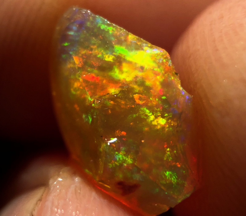 Gem Quality Mexican 3.765ct Rough Opal (OM)
